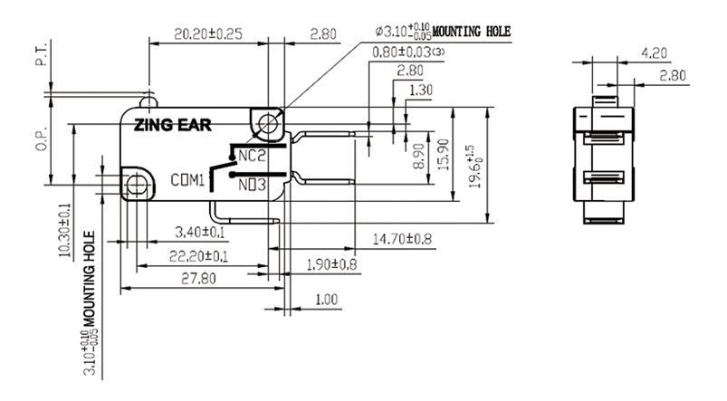 G5 Basic Micro Switch