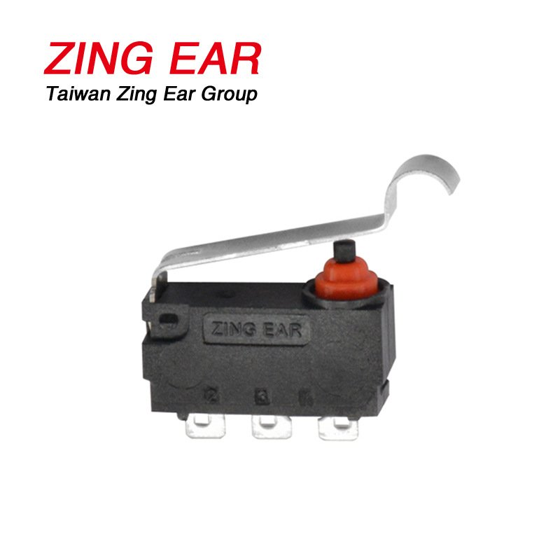 Electronic Components Zing Ear Simulated Roller Micro Switch Waterproof