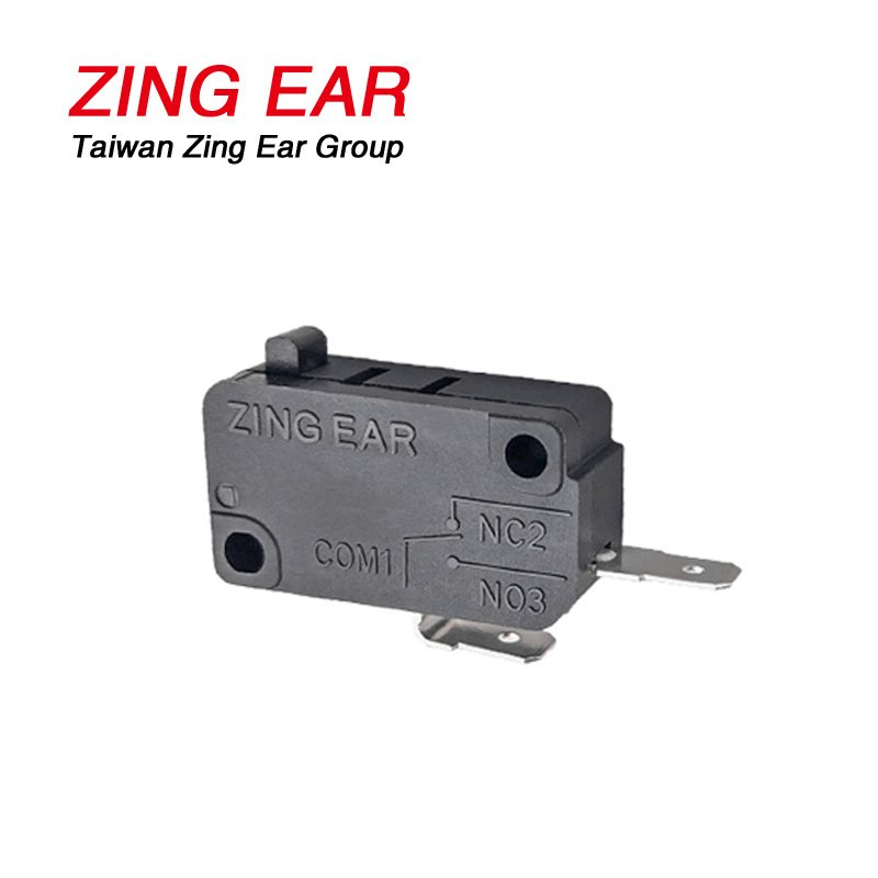 ZingEar 200gf 16A 4A 125 250VAC SPST NO Basic Micro Swith