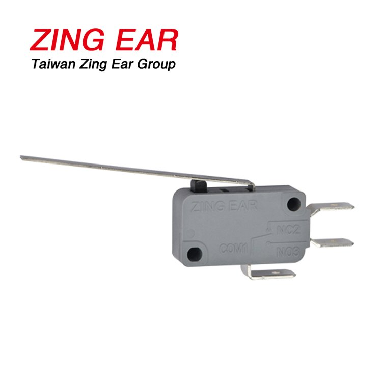 G5T22-C1Z100A03 SPDT 100gf Far From Pin Plunger Long Straight Lever Basic Snap Action Micro Switch