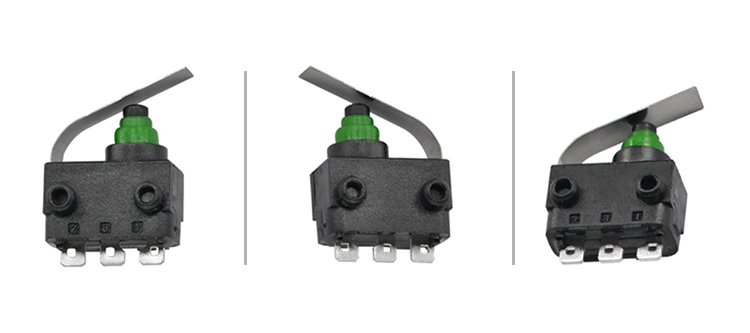 G303-130S03A12 Solder Terminal 40t85 Subminiature Lever 3 Pin Way Sealed Micro Switch