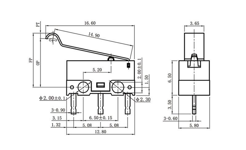G1003-150P07A micro switch