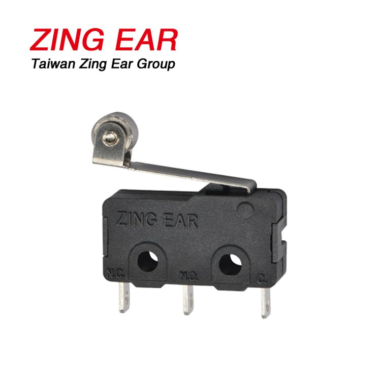 G605 5A 5E4 Small Size Roller Lever Micro Switch