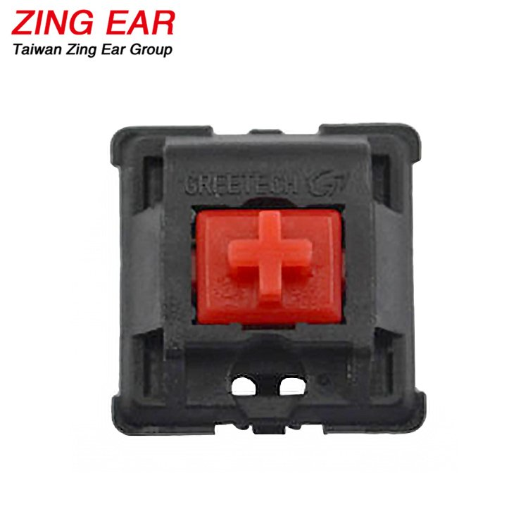 Red Quietest Mechanical Keyboard Switch