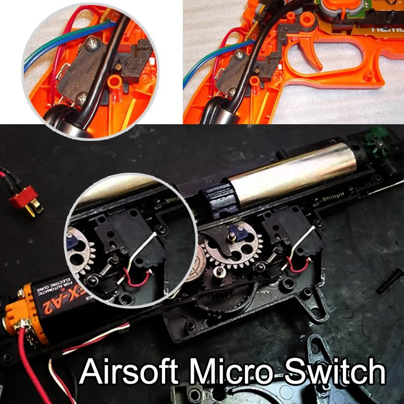 Airsoft micro switch