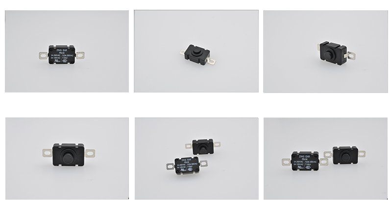 Electrical SPST Micro On Off Push Button Switch