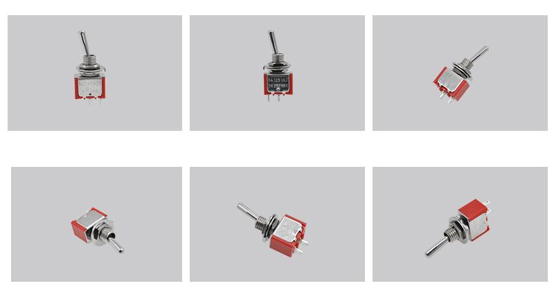 ON-OFF Single Pole Toggle Switch Photo