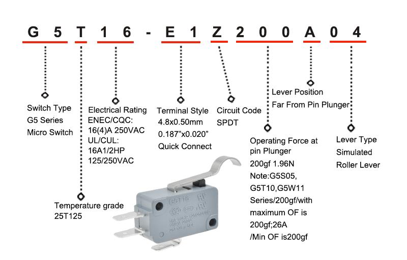 Club Car Part Micro Switch