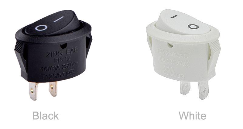 RK-12 Table Lamp Rocker Switch