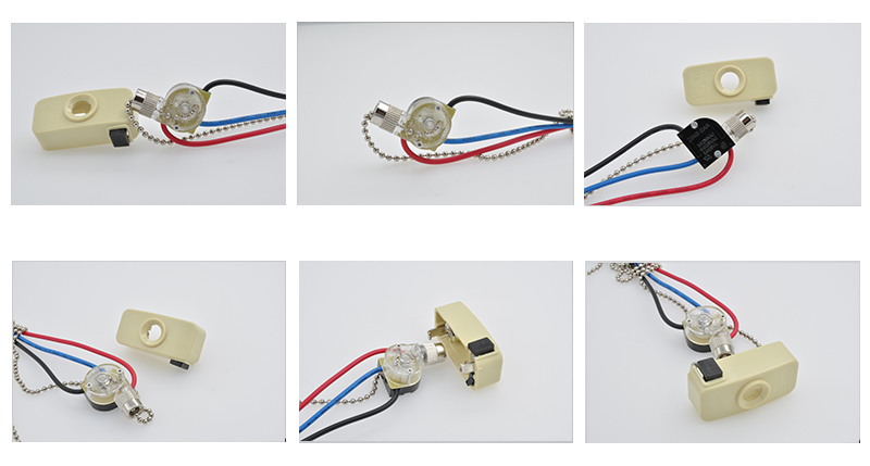 The photo of ZE-110 Zing Ear Pull Chain Switch For Celling Fan