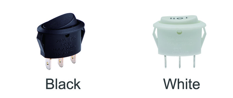 3 Pin Rocker Switch color