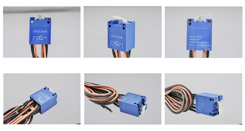 Waterproof Sealed T85 Micro Limit Switch Photos