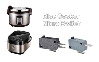 Rice cooker sanp action switch