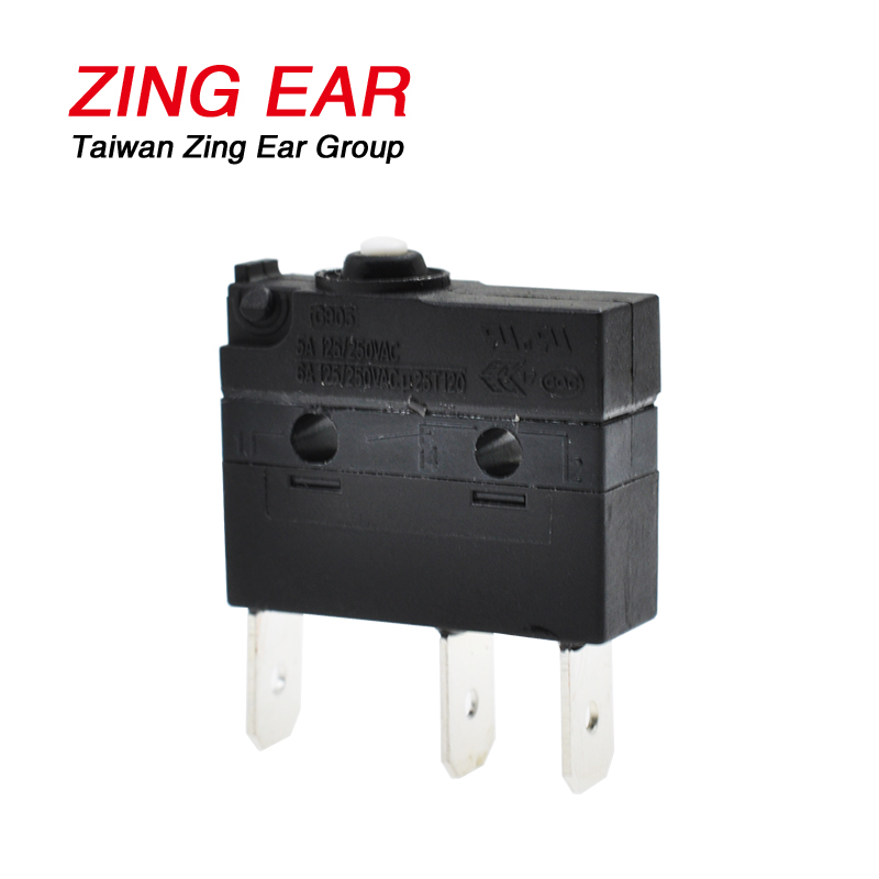 Micro Plunger Switch Zing Ear G905 25T120 SPDT Mini (4)