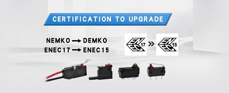 ENEC micro switch