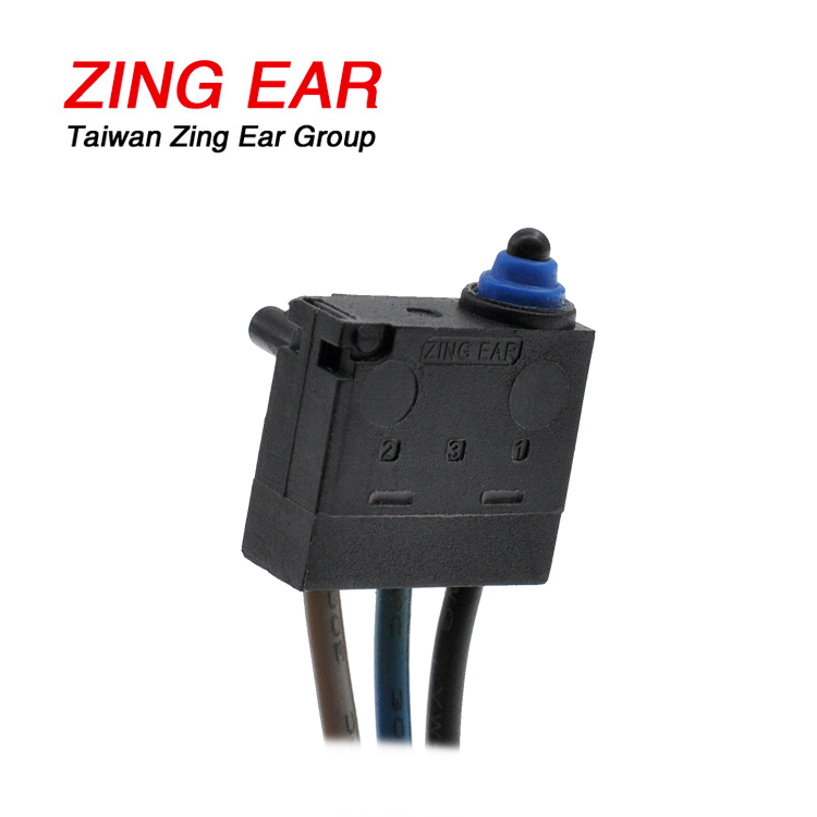 Micro Switch T85 5E4 Plunger Waterproof Snap Microswitch 0.1A 48VDC (3)