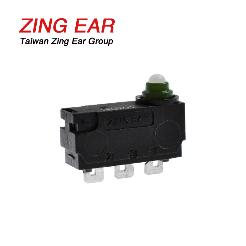 Subminiature Snap Action Switch 12VDC 3A Waterproof IP67 (2)